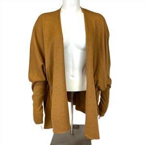 Knit cardigan sweater mustard color - Kerisma - M